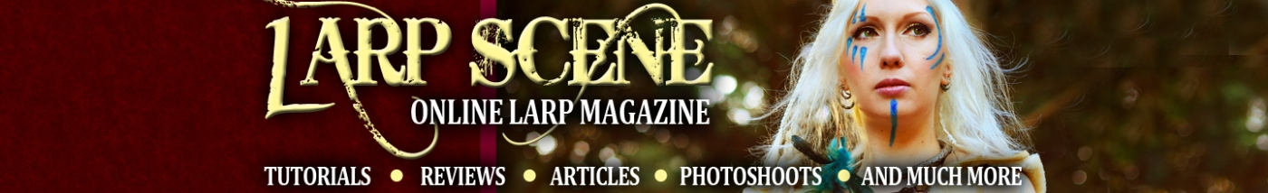 larp, live, action, role, play, banner, design, ezine, e, magazine, lrp, larpers, weapons